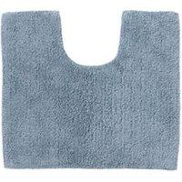 Cooke and Lewis Diani Celadon Cotton Tufty Slip resistant Bath mat (L)500mm (W)450mm