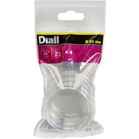 Diall PVC Leg protectors (Dia)51mm  Pack of 4