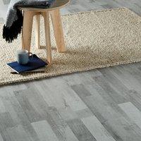 GoodHome Rockhampton Grey Oak effect Laminate flooring  2.467m² Pack