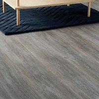 GoodHome Bundaberg Grey Oak effect Laminate flooring  2.467m² Pack