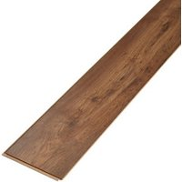 Tamworth Natural Gloss Oak effect Laminate Flooring Sample