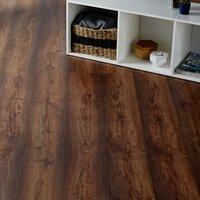 GoodHome Tamworth Natural Oak effect Laminate flooring  2.467m² Pack