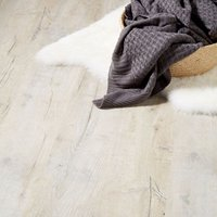 GoodHome Brisbane Grey Oak effect Laminate flooring  2m² Pack