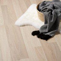 GoodHome Broome Natural Oak effect Laminate flooring  2m² Pack