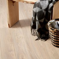 GoodHome Gawler Natural Ash effect Laminate flooring  2.06m² Pack