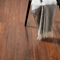 GoodHome Bannerton Mahogany effect Laminate flooring  2.06m² Pack