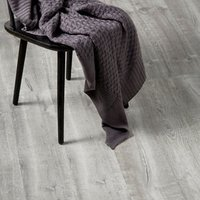 GoodHome Aberfeldy Grey Oak effect Laminate flooring  2m² Pack