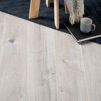 GoodHome Gladstone Grey Oak effect Laminate flooring  2m² Pack