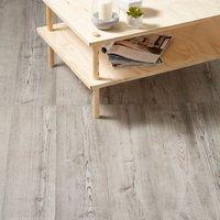 GoodHome Bailieston Grey Oak effect Laminate flooring  2m² Pack