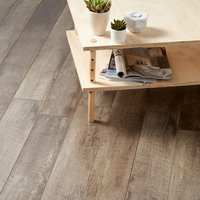 GoodHome Bannerton Dark Mahogany effect Laminate flooring  2.06m² Pack