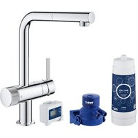 Grohe Blue Pure Chrome-plated Kitchen Side lever pull out Tap