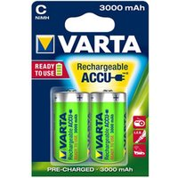Varta Rechargeable C (LR14) Battery Pack of 2.