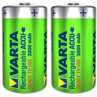 Varta Rechargeable D (LR20) Battery Pack of 2.