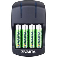 Varta 5h Battery charger with batteries with 4x AA batteries.