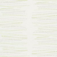 'As Creation Life Scribble Green & White Striped Glitter Effect Textured Wallpaper