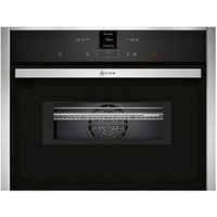 Neff C17MR02N0B 1000W Built-in Stainless steel Compact Oven with microwave.