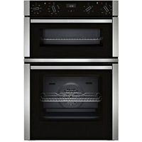 Neff U1ACE2HN0B Black Built-in Electric Double oven