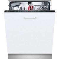 Neff SS13G60XOG Integrated White Full size Dishwasher.