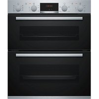 Bosch NBS533BS0B Silver Built-in Electric Double oven