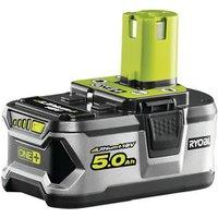 Ryobi ONE+ 18V 5.0Ah Li-ion Power tool battery.