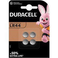 Duracell Non-rechargeable LR44 Battery Pack of 2.