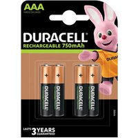 Duracell Rechargeable AAA Battery Pack of 4.
