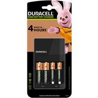 Duracell 4h Battery charger with 2x AA & 2x AAA batteries.