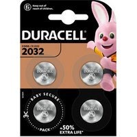 Duracell Non-rechargeable CR2032 Battery Pack of 4.