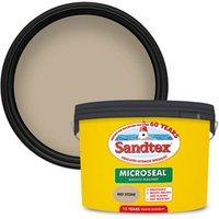 Sandtex Ultra smooth Mid stone Masonry paint  10L