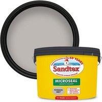 Sandtex Ultra smooth Plymouth grey Masonry paint  10L