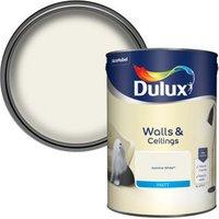 Dulux Natural hints Jasmine white Matt Emulsion paint 5L