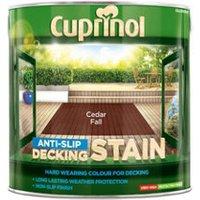 Cuprinol Cedar fall Matt Decking Wood stain  2.5L