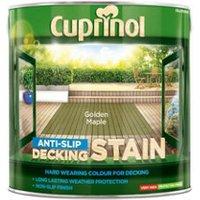 Cuprinol Golden maple Matt Decking Wood stain  2.5L