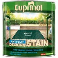 Cuprinol Vermont green Matt Decking Wood stain  2.5L