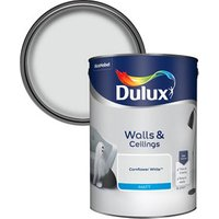 Dulux Cornflower white Matt Emulsion paint 5L