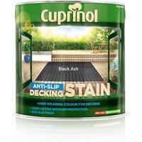 Cuprinol Black ash Matt Decking Wood stain  2.5L