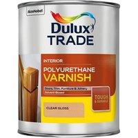 Dulux Trade Clear Gloss Wood varnish  1L