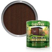 Cuprinol Ultimate Country oak Matt Preserver 4L
