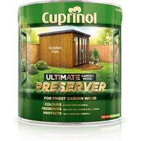 Cuprinol Ultimate Golden oak Matt Preserver 4L