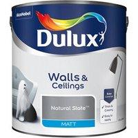 Dulux Natural slate Matt Emulsion paint 2.5L