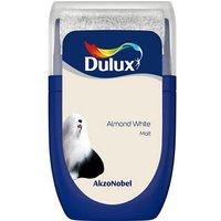 'Dulux Standard Almond White Matt Emulsion Paint 30ml Tester Pot
