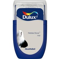 'Dulux Standard Pebble Shore Matt Emulsion Paint 30ml Tester Pot