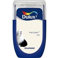 'Dulux Standard Fine Cream Matt Emulsion Paint 30ml Tester Pot