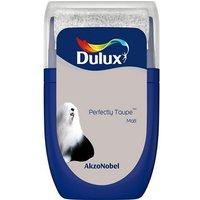 'Dulux Standard Perfectly Taupe Matt Emulsion Paint 30ml Tester Pot