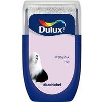 'Dulux Standard Pretty Pink Matt Emulsion Paint 30ml Tester Pot