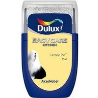 'Dulux Easycare Lemon Pie Matt Emulsion Paint 30ml Tester Pot