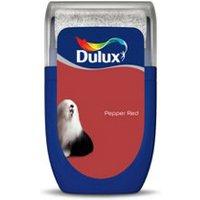 'Dulux Standard Pepper Red Matt Emulsion Paint 30ml Tester Pot