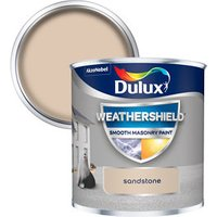 Dulux Weathershield Sandstone Smooth Matt Masonry paint  0.2