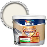 Dulux Weathershield Ultimate protection Jasmine white Smooth