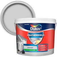 Dulux Weathershield All weather protection Pale slate Smooth